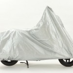 15552163 - bike cover silver with white background side view