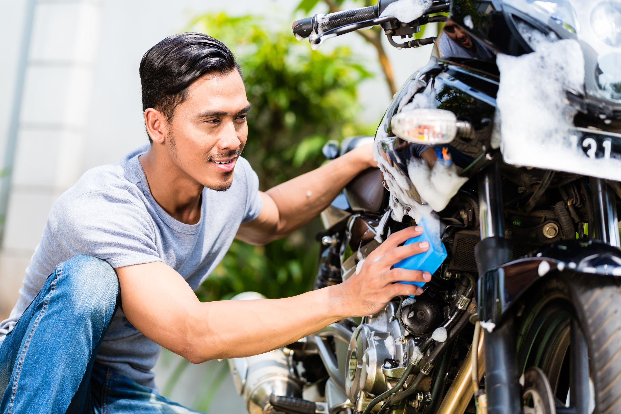 初心者のためのバイクの洗車方法まとめ