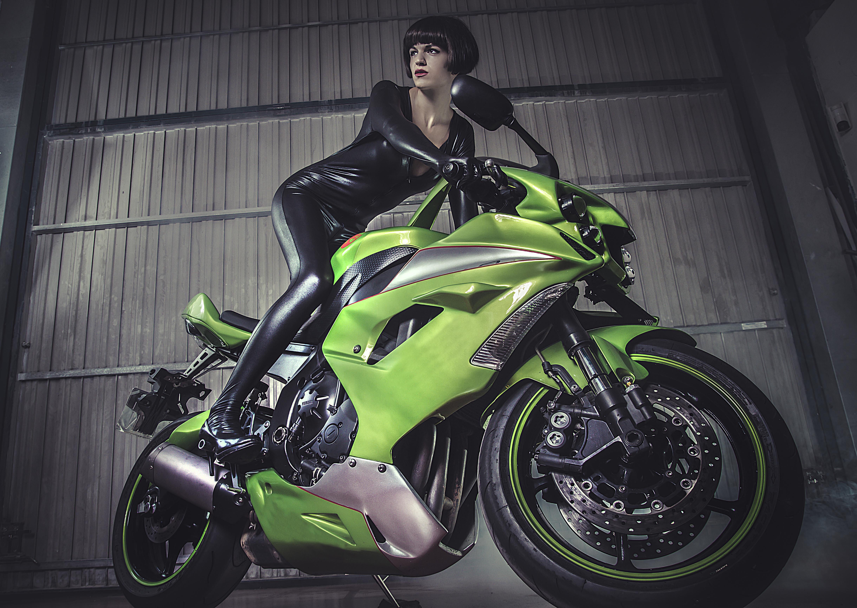 ばくおん!! メインキャラ 川崎来夢 先輩が乗るバイク