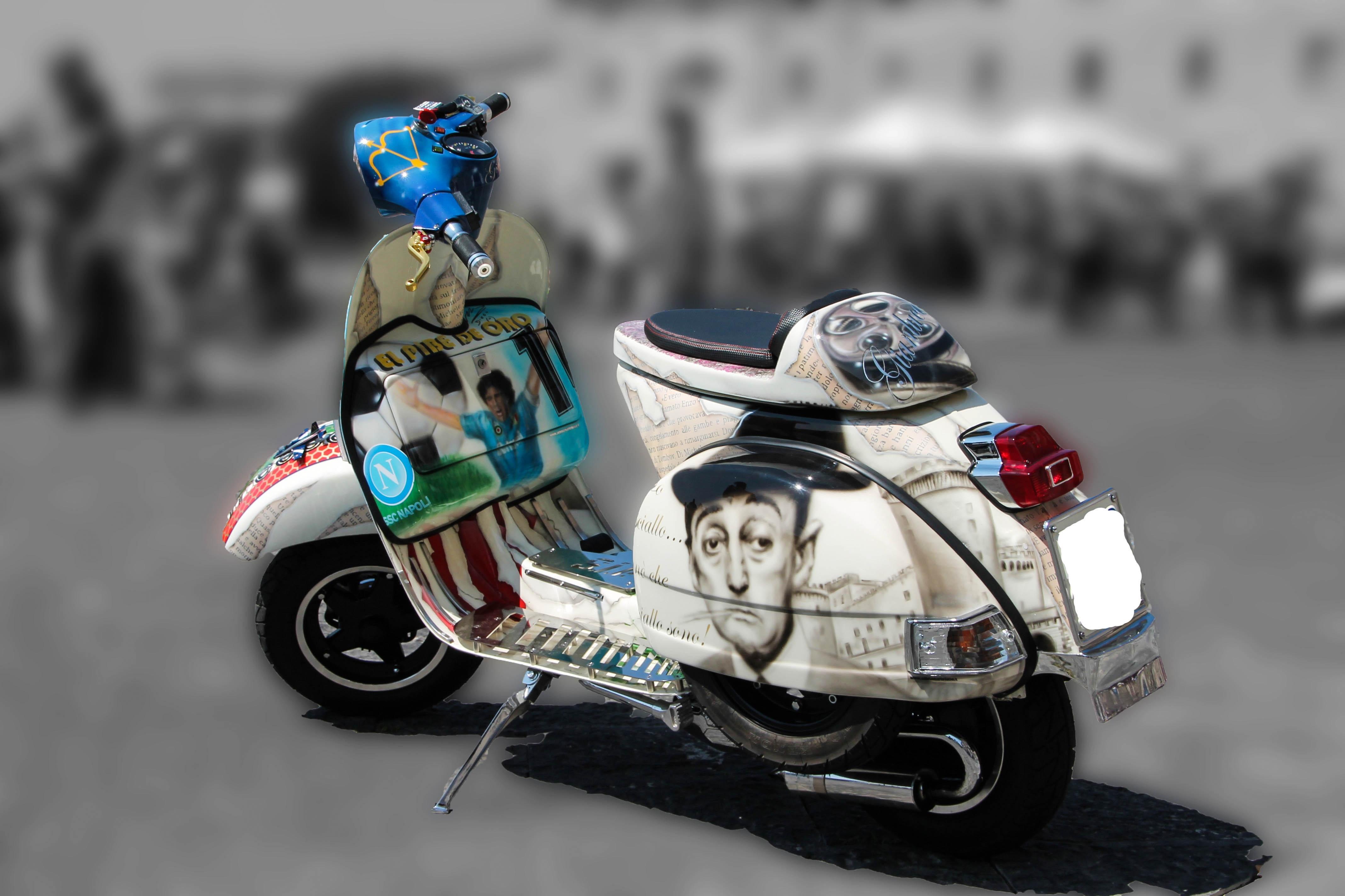 ばくおん!! メインキャラ 中野 千雨が乗るバイク