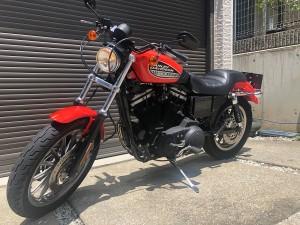 ハーレーダビッドソン XL883R